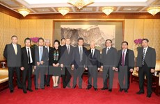 阮富仲总书记:越南愿为中国企业对越投资创造便利