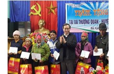 越南全国各地协助优抚家庭、贫困者欢度春节