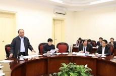 阮春福总理:为河内市发展基础设施和减少交通拥堵现象创造最好的机制