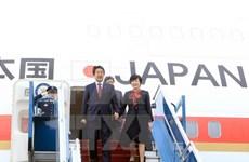 日本首相安培晋三与夫人圆满结束对越南访问之旅
