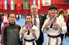 越南跆拳道队在法国夺得4枚金牌