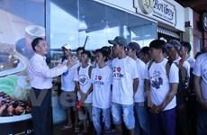 印尼在春节前将释放165名越南渔民