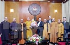 越南佛教协会同越南祖国阵线积极配合推动各项竞赛活动的有效开展