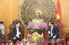 隆安省与柬埔寨各省加强友好合作关系