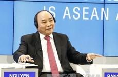 越南政府总理阮春福圆满结束世界经济论坛年会系列活动