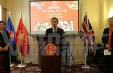 越南驻英国与巴西大使馆举行2017春节见面会