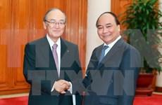 越南政府总理阮春福会见日本商工会议所代表团