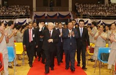 越南在充满动荡世界里的定力