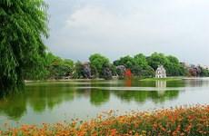 河内市的象征——还剑湖