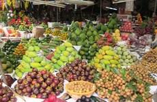 造型水果为春节增添别样艳丽的色彩