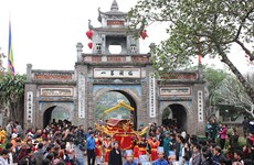 越南各大传统庙会纷纷开庙  喜迎游客贺新春