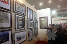 """""""黄沙、长沙归属越南:历史证据和法律依据""""资料图片展在清化省举行"""