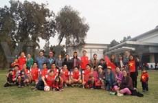 东盟驻印使馆足球联赛越南队夺冠