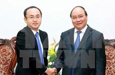 阮春福总理:希望日本努力争取早日成为越南最大的投资来源国