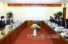 越通社与韩联社加强合作交换信息