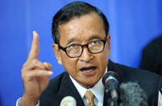 柬埔寨二审法院保持金边市一审法院对救国党主席桑兰西所作出的裁决