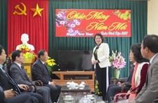 越南国家副主席邓氏玉盛赴海阳省调研指导工作