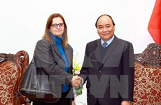 越南政府总理阮春福会见以色列驻越大使