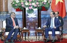 陈大光主席:大力加强越新两国司法改革领域的合作