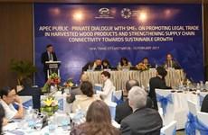 APEC打击木材非法采伐和相关贸易专家组会议在庆和省召开