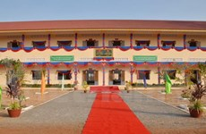 越柬建交50周年:越南援建的柬埔寨Techo工兵学校教学楼正式竣工