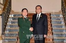 越南与泰国加强防务合作 助推两国战略伙伴关系