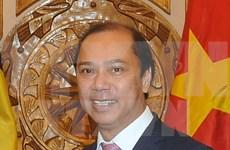 """越南外交副部长阮国勇:坚持共建""""以民为本""""共同体"""