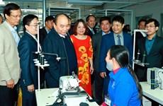 越南政府总理阮春福莅临宣光省调研
