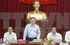 越南政府副总理王廷惠莅临芹苴市调研