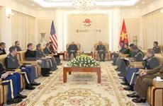 范玉明上将:越美防务关系发展良好