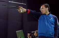 射击世界杯总决赛:黄春荣获男子10米气手枪亚军