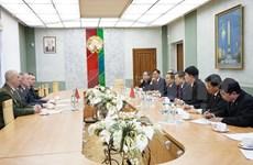 越南公安部长苏林访问白俄罗斯