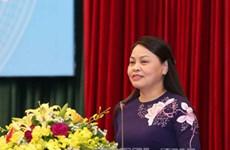 第十二次越南全国妇女代表大会召开在即:着力提高越南妇女的地位