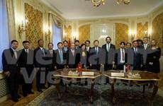 越南公安部长苏林访问斯洛伐克