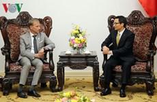 武德儋副总理会见全球基金执行主任马克•迪布尔