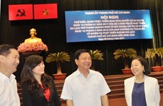 胡志明市努力将旅游业培育成为经济支柱产业