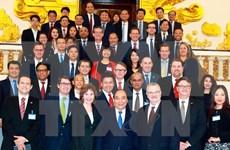 政府总理阮春福:美国企业的成功是越南的成功