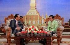 越南河内与老挝万象加强合作