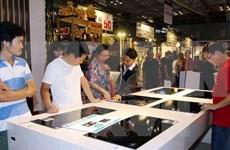 2017年第一次河内市国际建筑建材及家居用品展览会正式开展