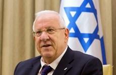 以色列总统与夫人开始对越南进行国事访问