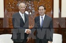 国家主席陈大光会见世界知识产权组织总干事高锐