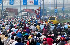 胡志明市整治37个交通拥堵黑点