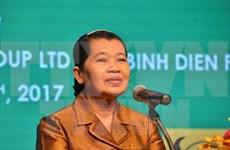 柬埔寨副首相梅森安:越企对柬埔寨农业可持续发展事业作出积极贡献