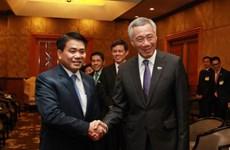 新加坡总理李显龙:新加坡愿同河内加强高科技领域合作