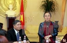 越南妇联高度评价旅德越南妇女的作用