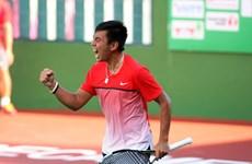 2017年日本男网F3未来赛:李黄南闯入半决赛
