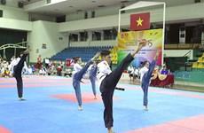 2017年东南亚跆拳道锦标赛首日:越南队共获19金