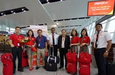 越捷航空公司正式开通河内市至柬埔寨暹粒市直达航线