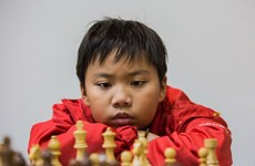 2017年亚洲青少年国际象棋锦标赛快棋赛:越南国际象棋队获1金3银2铜