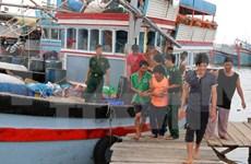 海上遇险的广义省28名渔民获救